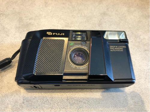 Câmera Analógica Fuji Cardia Hite Date 1986 - Raridade