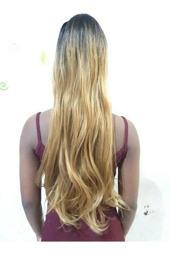 Aplique Rabo De Cavalo Ombre Hair