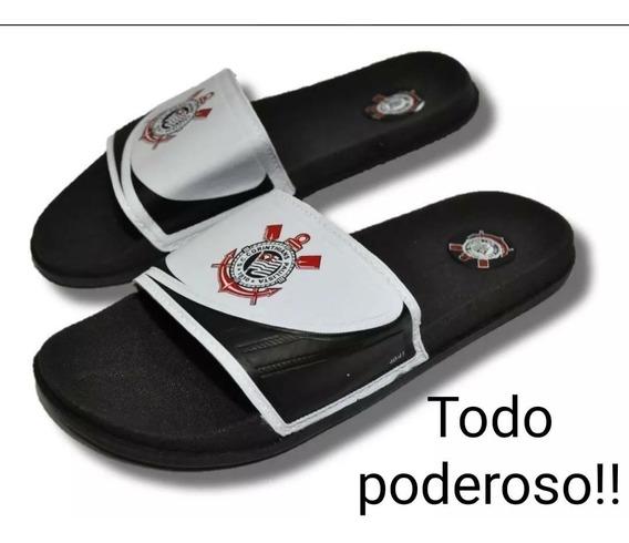 Chinelo Slide Do Corinthians Em Promoção