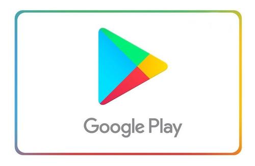 Cartão Presente Google Play 200 Reais Gift Card