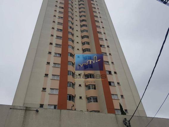 Apartamento Com 3 Dormitórios À Venda, 76 M² Por R$ 430.000 - Cidade Patriarca - São Paulo/sp - Ap0490