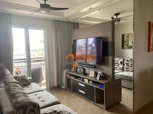 Imagem 1 de 30 de Apartamento Com 3 Dormitórios À Venda, 66 M² Por R$ 350.000,00 - Ponte Grande - Guarulhos/sp - Ap3317