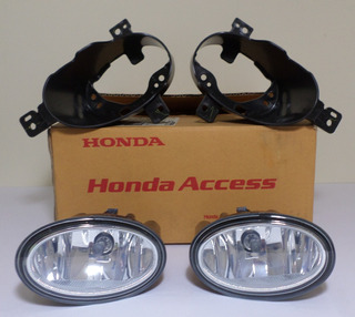 Par Farol De Neblina E Suporte Hrv 16/17 Original Honda