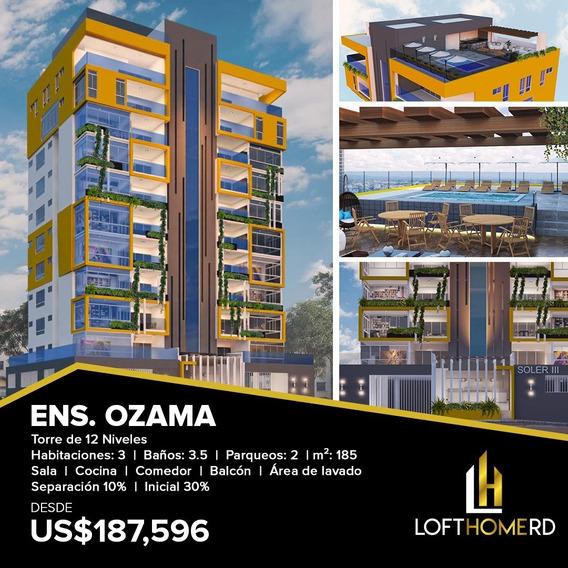 Torre Exclusiva En Ensache Ozama