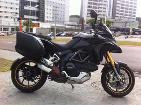 Ducati Multistrada 1200 Tourer 2011 Preta Impecavel