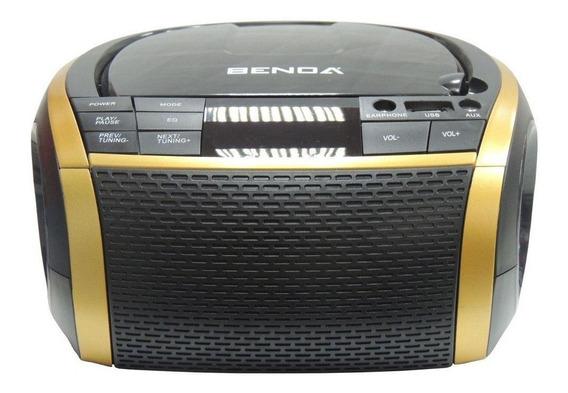 Rádio Benoá Boombox Bn225b Bluetooth Entradas Usb Auxiliar