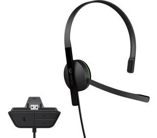 Diadema Chat Xbox One Microsoft Original Chat Headset Nuevo