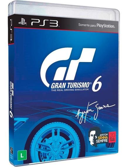 Gran Turismo 6 (ayrton Sena) Original Mídia Física