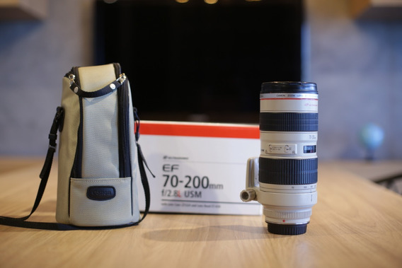 Lente Ef Canon 70-200mm 2.8