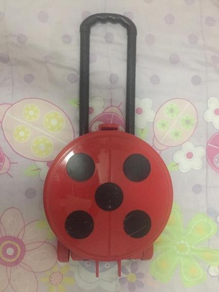 Mochila Ladybug Trip Bag - Brinde Sandália