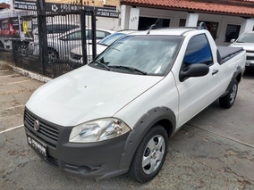 Fiat Strada Working 1.4 2013 Branca Flex