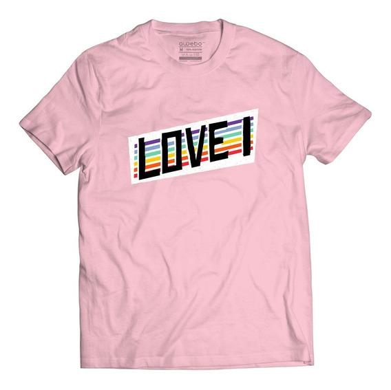 Playera Love 1 Orgullo Lgbt