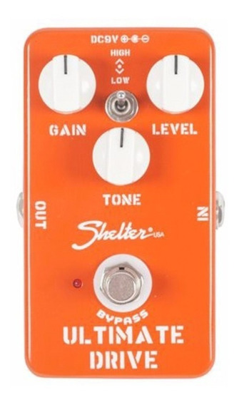 Pedal Guitarra Overdrive Shelter Ultimate Drive Sud Tipo Ocd