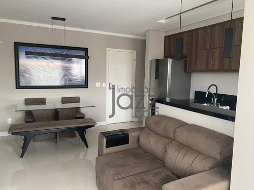 Apartamento Com 1 Dormitório À Venda, 48 M² Por R$ 390.000 - Vila Lídia - Campinas/sp - Ap5667