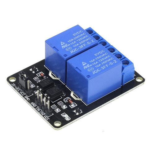 Modulo Rele 2 Canales Relay 5v Arduino Avr Pic Ttl Arm