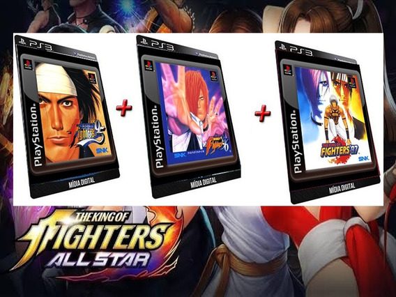 The King Of Fighters 95 96 97 Ps3 Game Digital Psn