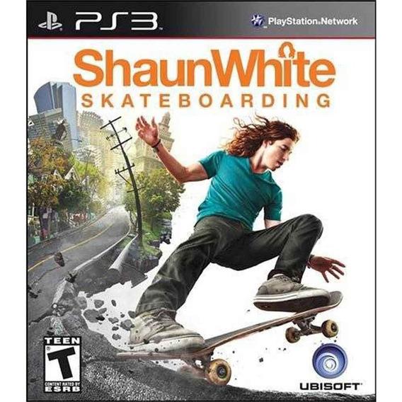 Jogo Shaun White Skatebording Ps3 (novo Lacrado)