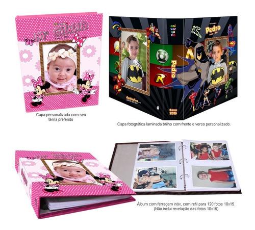 Album De Fotos Fotográfico E Personalizado -10x15- 120 Fotos