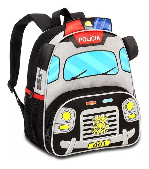 Mochila Infantil Clio Style Kids Policia
