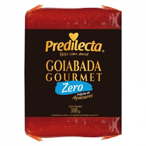 Imagem 1 de 2 de Goiabada Zero Açúcar 300g Predilecta