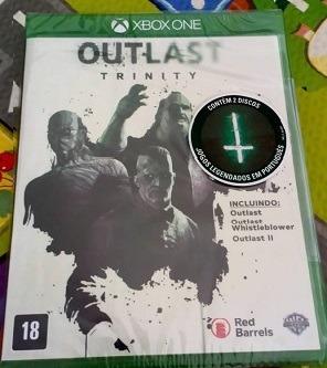 Outlast Trinity (mídia Física Leg Pt-br) Xbox One Lacrado