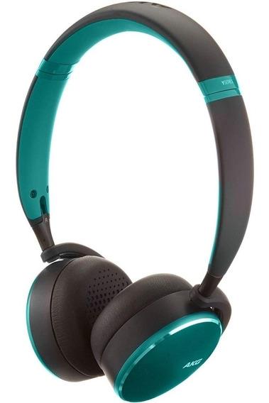 Fone De Ouvido Samsung Bluetooth Akg Y500 Verde Original