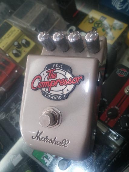 Pedal Para Guitarra Marshall Compressor Ed-1 Semi Novo Ed1
