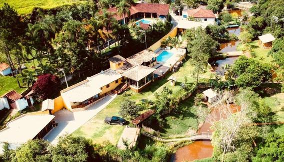 Sítio Com 6 Dormitórios À Venda, 6000 M² - Aralú - Santa Isabel/sp - Si0017