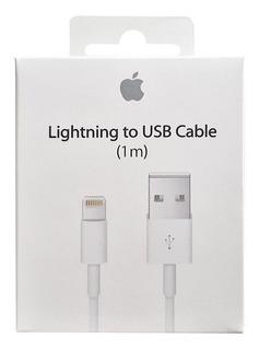 Cabo Apple iPhone Original 1m 5 5c 5s 6 6s 7 8 Plus X
