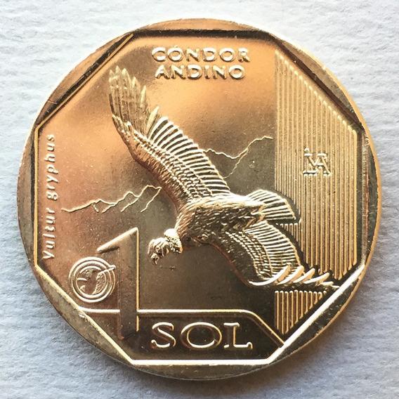Perú - Moneda 1 Sol 2017 - Cóndor Andino ¡ Nueva !