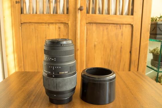 Lente Sigma Dg 70-300mm Nikon Mount-f