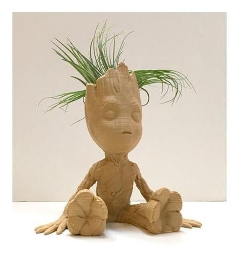 Baby Groot 9 Cm Vasinho Porta Objetos Suculentas Tam Funko