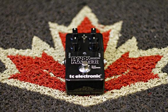 Pedal Tc Electronic Dark Matter Distortion + Nf E Garantia!