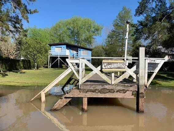 Casa En Alquiler Delta Tigre- Arroyo Abra Vieja- Coramina