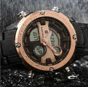 Relógio Masculino Militar Naviforce Nf9088 A Prova D