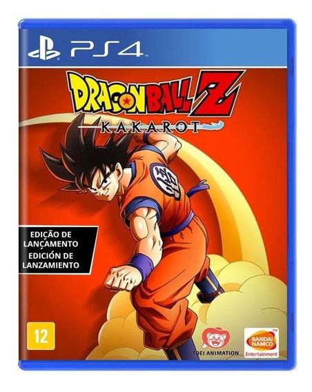Dragon Ball Z Kakarot Edição De Lançamento Ps4 Mídia Física