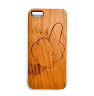 Funda iPhone 5 5s Case Madera Grabada Máxima Protección
