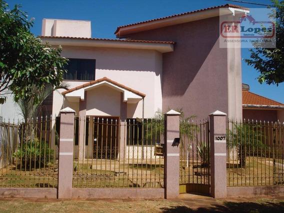 Casa Residencial À Venda, Centro, Eldorado. - Ca0063