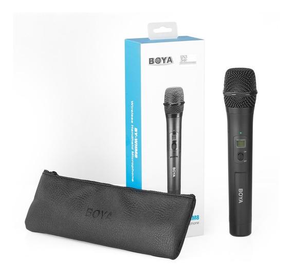Microfone Sem Fio Boya By-whm8 Pro Sem Fio Uhf Comp Wm8 K2
