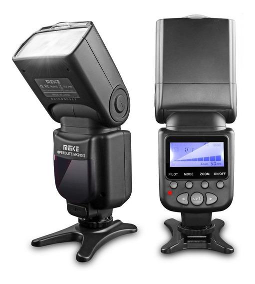 Flash Para Canon Meike 930ii 80d 60d 5dmarkii T5i T4i