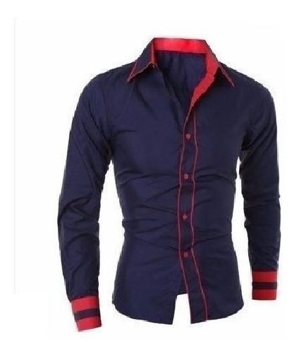 Camisa Social Slim Promoção Pronta Entrega Ótimo Caimento