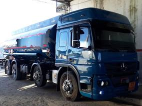 Mercedes-benz Atego 2430 8x2 Tanque Combustivel ´extra