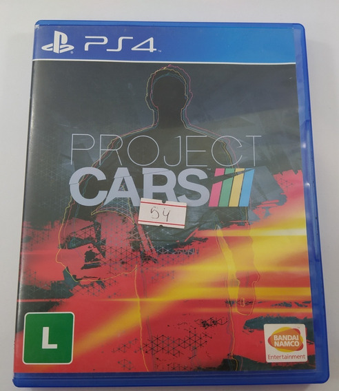 Project Cars Ps4 Usado Mídia Física