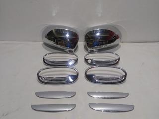 Kit Cromado Manillas Y Espejos Chevrolet Spark