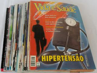 Lote Com 28 Revistas Antiga Vida E Saúde Década 2000 Coleção