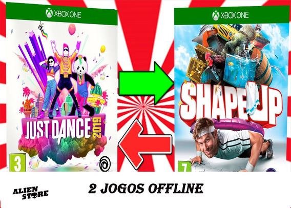 Shape Up + Just Dance 2019 Offline X Box One Offline