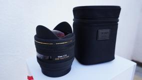 Lente Sigma 10mm F/2.8 Fisheye Para Sony A-mount