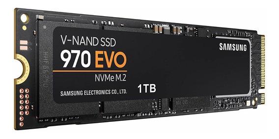 Hd Ssd Samsung 970 Evo 1tb M.2 Nvme 2280 Mz-v7e1t0bw