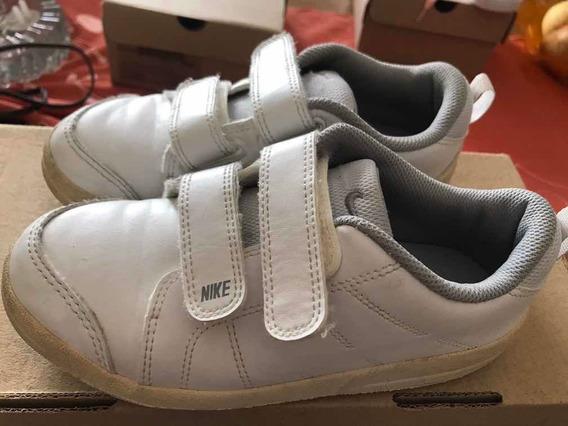 Tênis Pico Velcro Branco - Nike