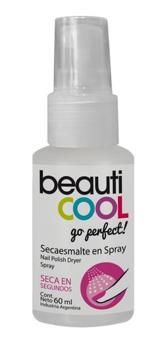 Venta Minorista  Secaesmalte En Spray Beauticool Go Perfect!